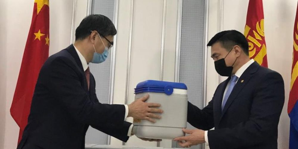 300,000 doses of Sinopharm Vaccine arrived Mongolia
