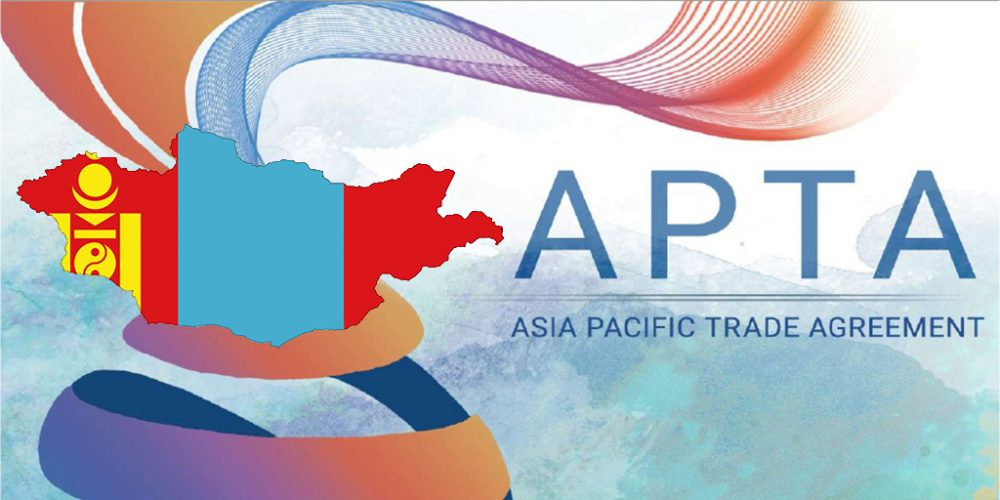 Mongolia received first Certificate of Origin under Asia-Pacific Trade Agreement