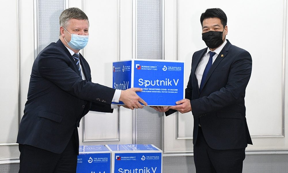 10000-doses-Spuntik-V-Vaccines-reached-Mongolia on Feb.27.2021